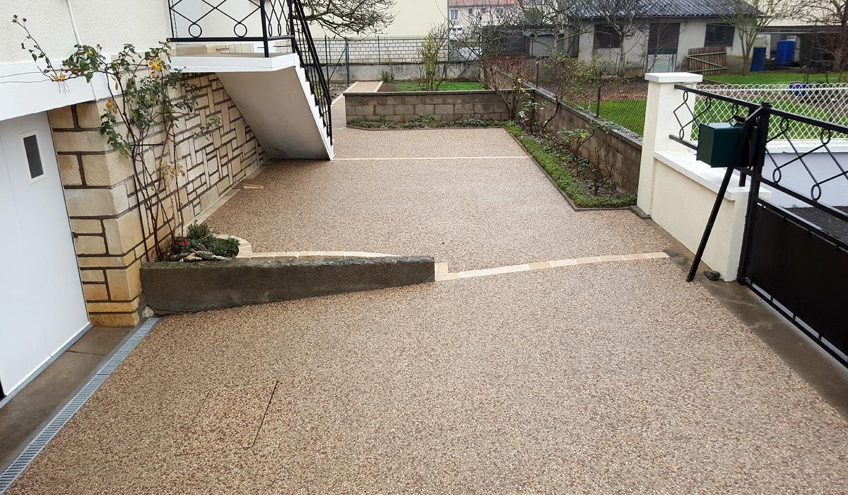 Terrasse beton desactive affordable revetement terrasse beton les meilleures id es de la cat - Terrasse beton desactive ...